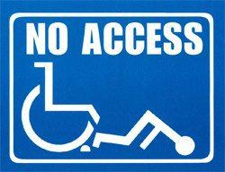 Panneau No Access