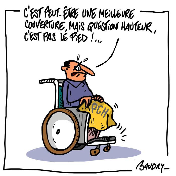 histoire drole handicap